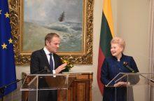 Šalies vadovai: švęsdama atkūrimo šimtmetį, Lietuva džiaugiasi Vakarų parama