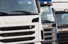 Iš lenko Kalvarijoje pavogtas vilkikas, nuostolis – 100 tūkst. eurų