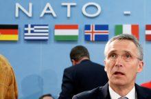 NATO vadovas: reikia išlaikyti spaudimą Rusijai