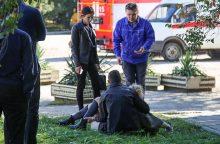 """V. Putinas: šaudynės Krymo mokykloje – """"globalizacijos"""" rezultatas"""
