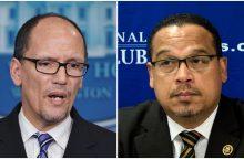 Susiskaldę JAV demokratai rinks naują lyderį