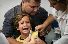 Vaikų skiepai Italijoje – jau privalomi