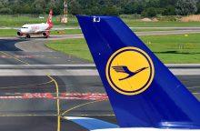 """Šimtą metų su gervės simboliu skraidanti """"Lufthansa"""" nefinansuos gervių apsaugos"""