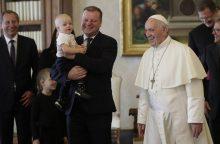 Popiežius Pranciškus kitąmet lankysis Lietuvoje