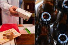 Gali tekti rinktis: prekiauti vaistais arba alkoholiu
