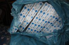 Atokioje sodyboje – tūkstančiai kontrabandinių cigarečių