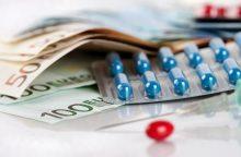 Valstybė apmokės tik pigiausius vaistus?