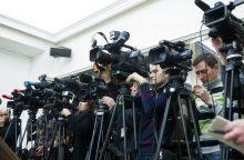 Nepasitikėjimas žiniasklaida pasiekė rekordą