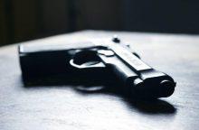 Kultūros centro seife – du pistoletai
