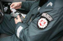 Per savaitę Lietuvos keliuose – beveik 4 tūkst. pažeidimų