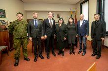 Kaune viešėjo Lietuvos ambasadorius Ukrainoje