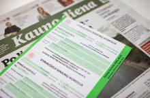 Kaunietei kilo neaiškumų dėl rinkėjo kortelės: nuogąstauja, kad negalės balsuoti