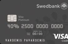 Išskirtiniam komfortui kelionėje – nauja kredito kortelė