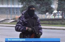 Sumaištis Luhanske: valdžios pastatus blokuoja ginkluoti asmenys