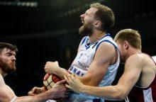 """Rezultatyviausias sezono rungtynes sužaidęs E. Želionis """"Neptūnui"""" nukalė LKL bronzą"""