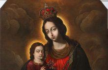Į Pivašiūnus grįžta restauruotas Švč. Mergelės Marijos paveikslas