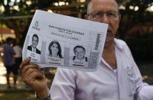 Kokią įtaką taikai Kolumbijoje turės prezidento rinkimai?