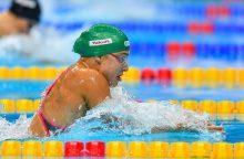 R. Meilutytė grįžo į lyderių gretas: pateko į pasaulio čempionato finalą