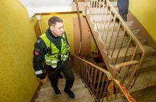 Dainavos rajono daugiabutyje – įtariamojo sulaikymo operacija