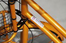 Policija kviečia žymėti dviračius