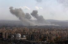 JAV ir Rusija svarsto naujas idėjas, kaip nutraukti kovas Sirijoje