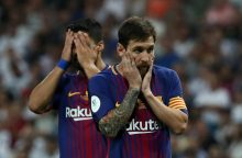 """""""Real"""" triumfas: nugalėjo """"Barceloną"""" ir iškovojo Ispanijos Supertaurę"""
