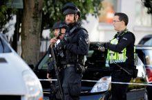 Areštuotas šeštas su ataka Londono traukinyje siejamas įtariamasis