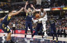 D. Sabonis naujame NBA sezone startavo sėkmingai