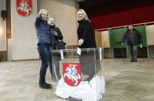 Klaipėdiečiai balsavo už politikos naujokus <span style=color:red;>(atnaujinta)</span>