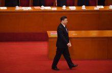 Kinijos parlamentas patvirtino prezidento Xi Jinpingo antrąją kadenciją