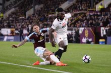"Anglijos futbolo čempionato turas baigėsi ""Burnley"" pergale"
