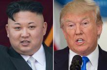 Šiaurės Korėja reikalauja JAV pasirašyti taikos susitarimą