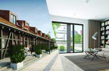 Klaipėdiečiams pristatys autentiškai atkurtus šimtamečius pastatus