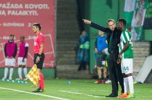 V. Dambrauskas: jei laimime penkerias rungtynes iš eilės – tampame čempionais