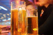 Klaipėdos bare apsaugos darbuotojas sumušė vyrą