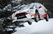 """""""Winter Rally"""" nugalėtojai: tai buvo neįtikėtinai sudėtingos lenktynės"""