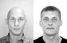 Kretingoje ieškoma dviejų jaunų vyrų