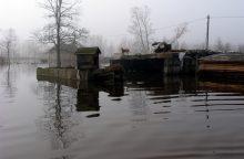 Gyventojus gelbės nuo potvynių