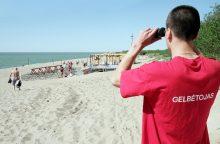 Audringoje jūroje skendo ukrainietis