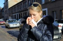 Gripas pajūryje pamažu atsitraukia?