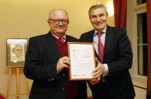 I. Simonaitytės premija – diplomatui