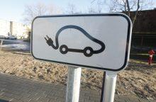 Mieste – daugiau dėmesio elektromobiliams