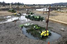 Lietaus skandintose kapinėse – naujovės