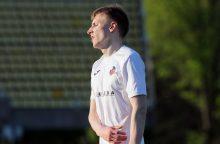 Lietuvos futbolo rinktinėje – naujas žaidėjas