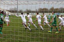 """""""Sūduvos"""" futbolininkų Čempionų lygos atrankoje laukia Kipro komandos barjeras"""
