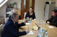 Ministrą sudomino pelenų tvarkymo technologijos