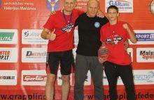 Klaipėdos imtynininkai iškovojo medalius