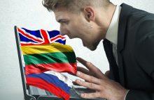 Įmonės klientai pyksta – rusų kalba brukama per prievartą?