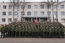 Prisiekė būsimi Lietuvos karininkai