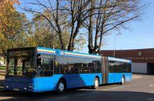 Klaipėdos autobusų parkas didina atlyginimus